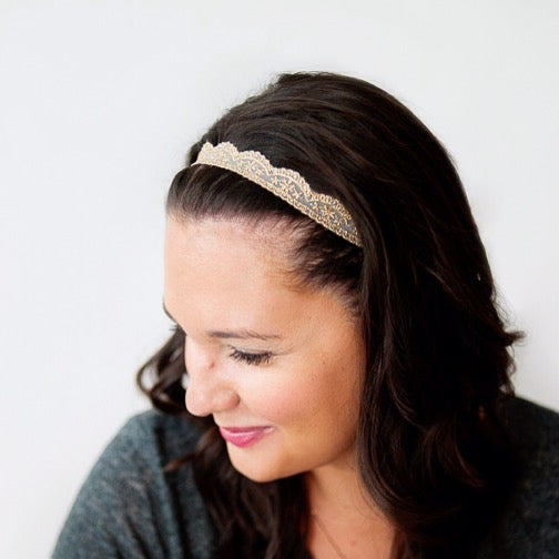 Image of Charlotte Lace Adult Headband