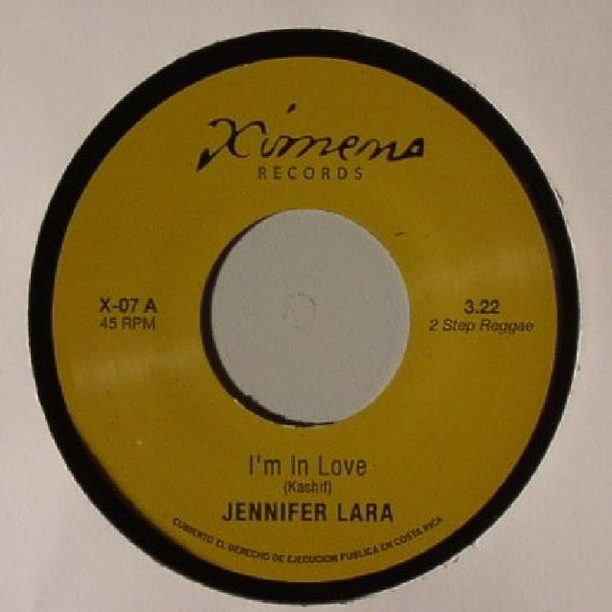 Image of JENNIFER LARA-I'M IN LOVE/JOE CRUZ-BLACK WIDOW