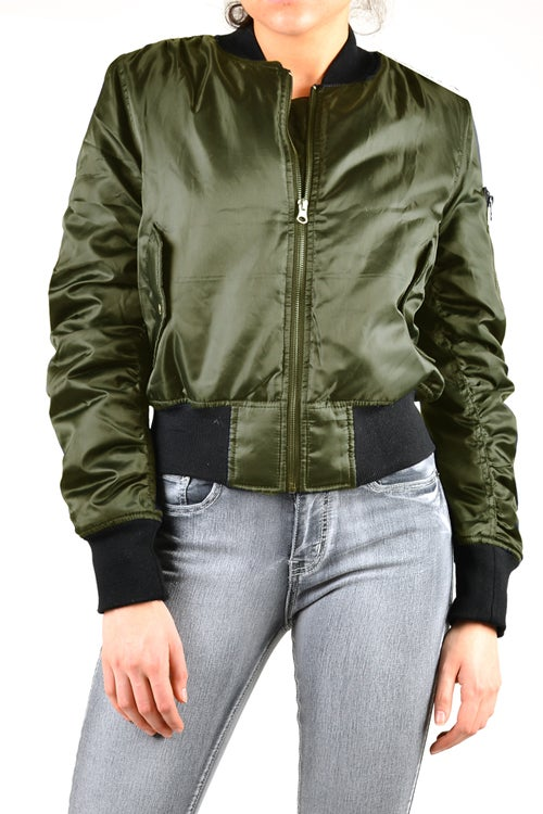 Image of Olive Flight Jacket