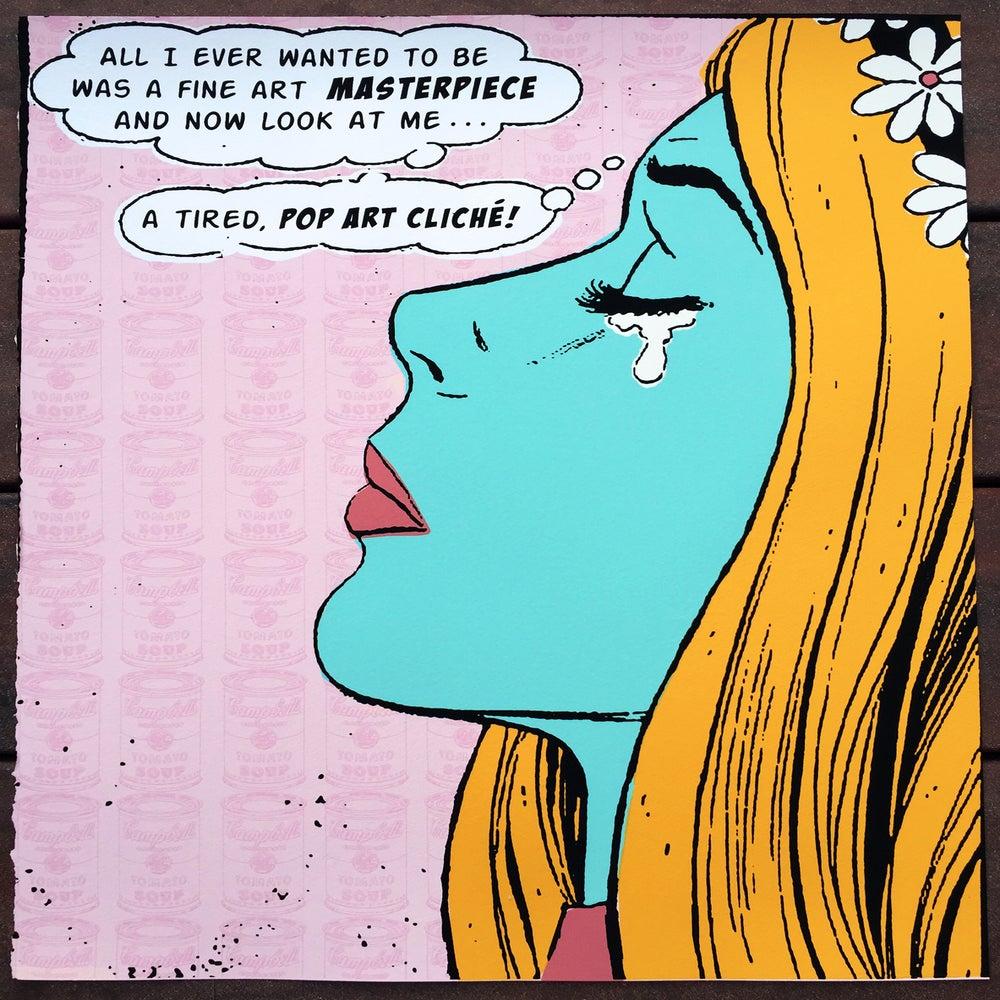 Image of Pop Art Silkscreened Art print