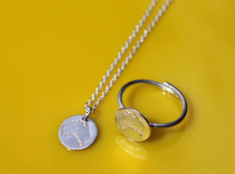 Image of Australia Necklace Ring Combo!