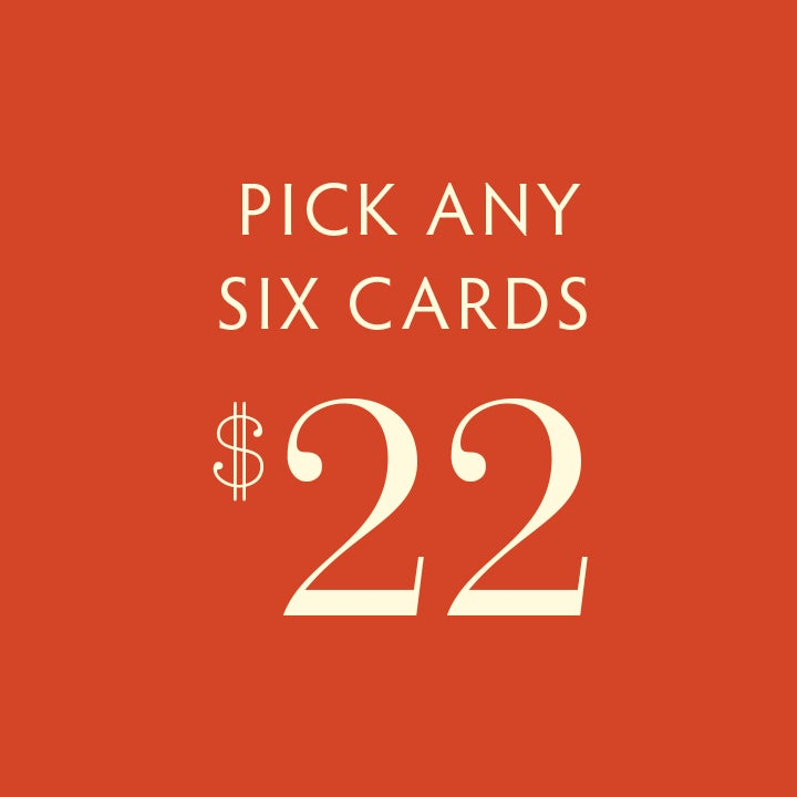 Image of PICK 6 CARDS