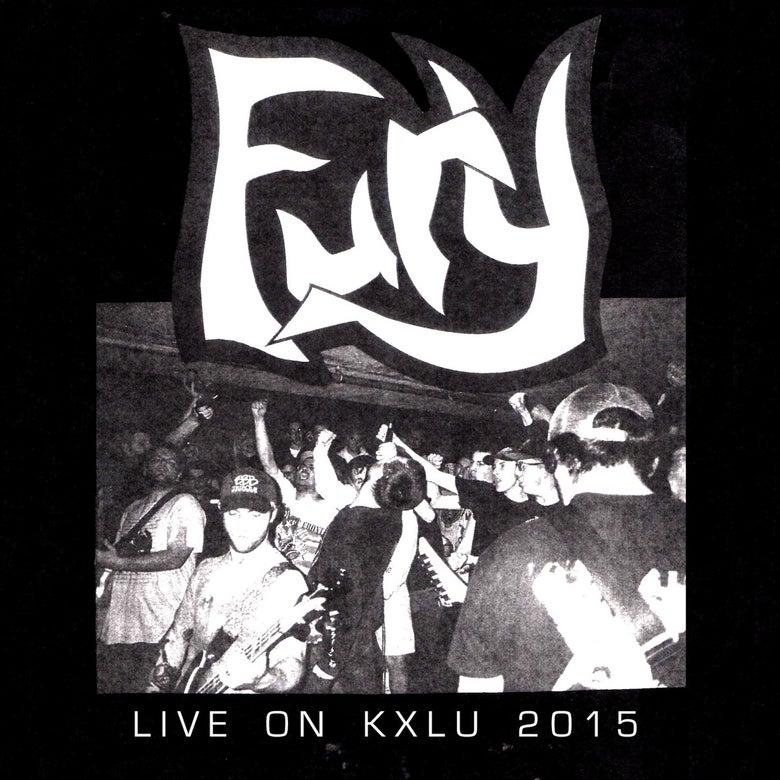 """Image of Fury """"Live on KXLU"""" 7"""""""