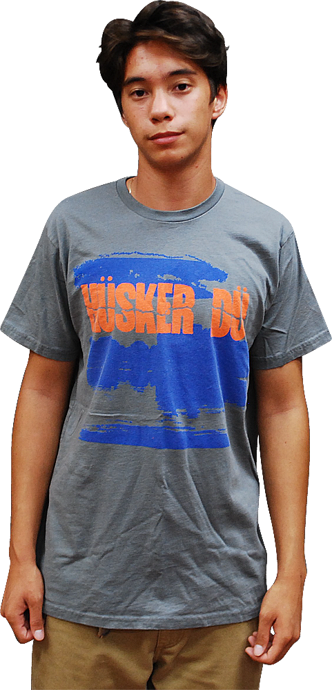 Image of HÜSKER DÜ: NEW DAY RISING LAKE T-SHIRT