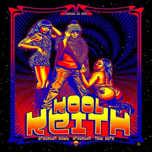 Image of Kool Keith Black Light Poster