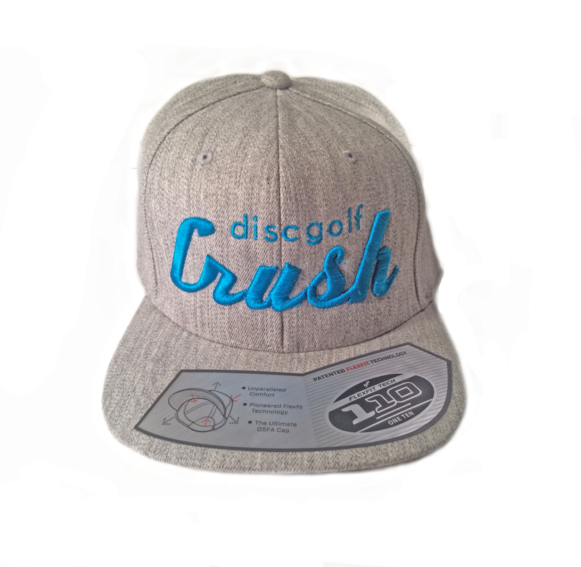 Image of Peacock Blue Heather Grey Crush Discgolf