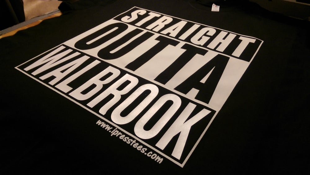"Image of Straight Outta ""custom print"""