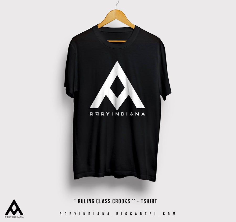 Image of 'Ruling Class Crooks' Tee - Black