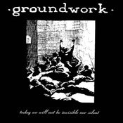 """Image of GROUNDWORK """"LP Cover"""" shirt"""