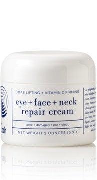 Image of H Skin Repair - Pre + Biotic DMAE Lifting + Vitamin C Firming Eye Face + Neck Repair Cream - 2oz.