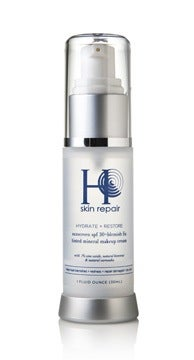 Image of H Skin Repair - Hydrate + Restore SPF 30 Sun + Blemish Fix Tinted Mineral Makeup Cream - 1oz.