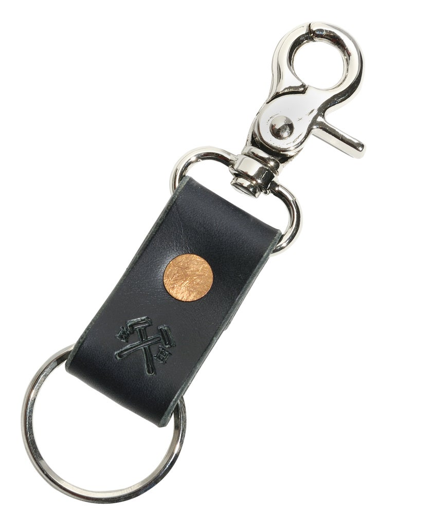 Image of Navy Key Leash