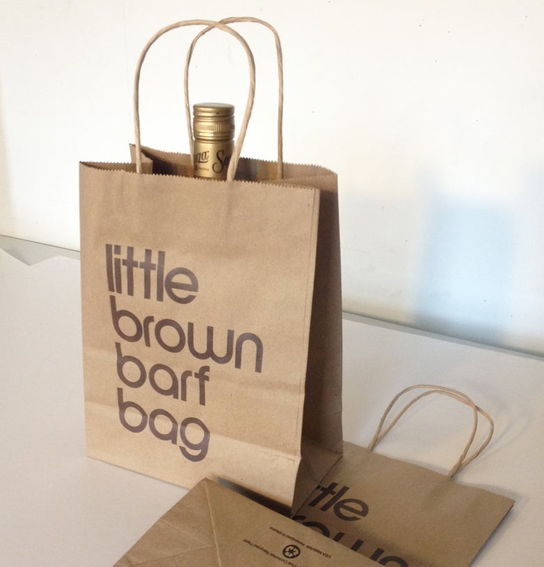 Image of Little Brown Barf Bag