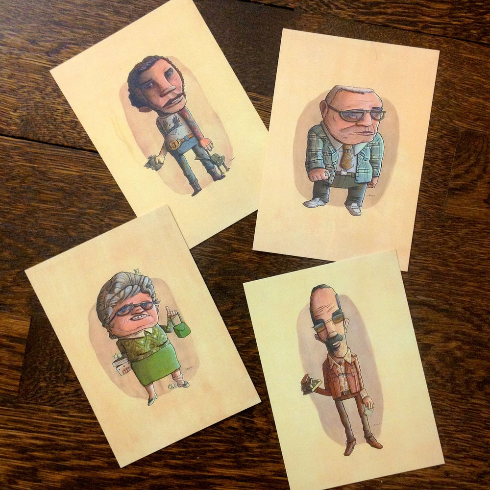 Image of Postcards - Faculty Pack
