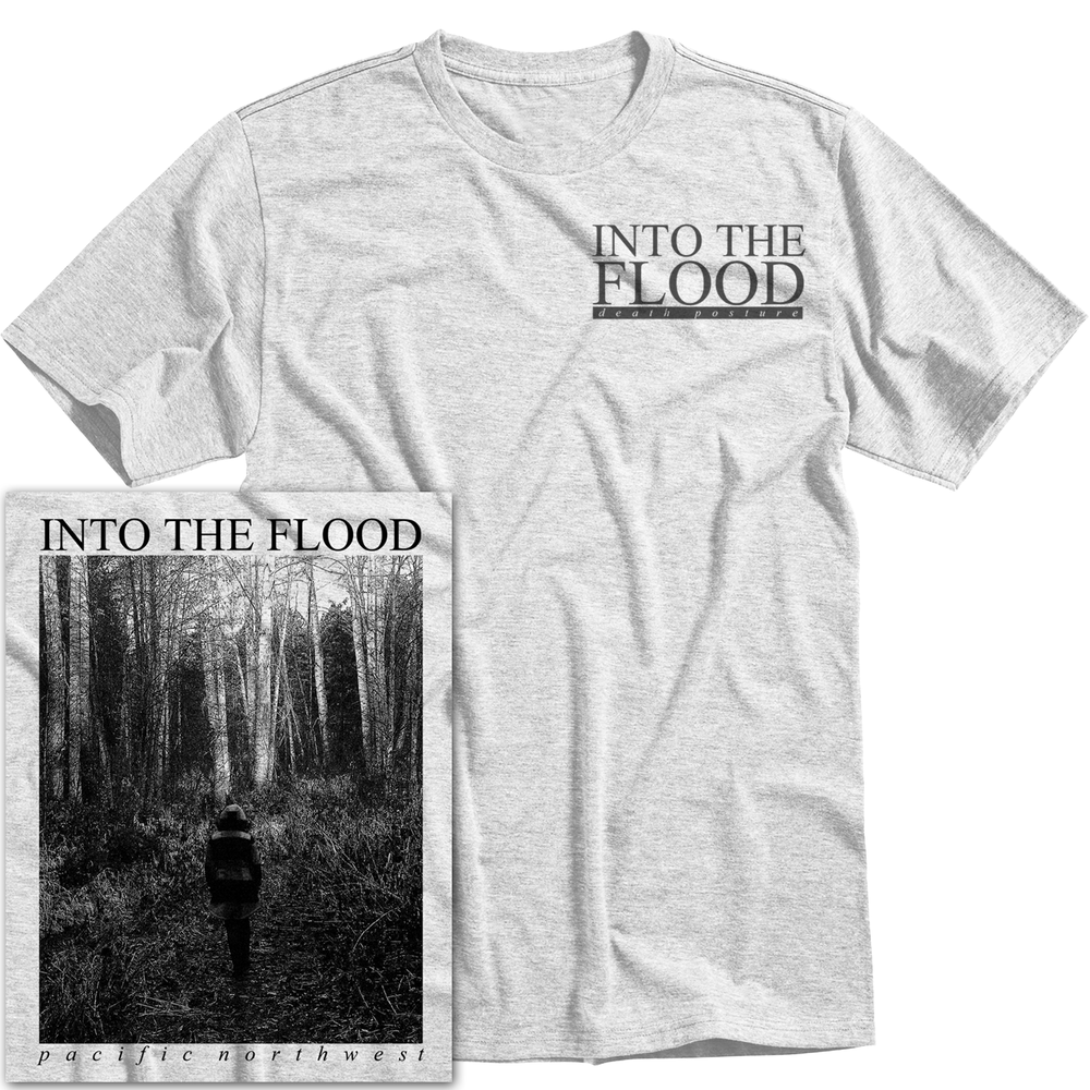Image of 'Death Posture' Grey T-Shirt