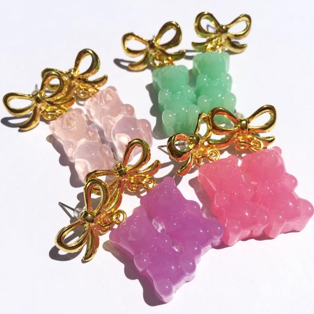 Image of Jelly Bear earrings