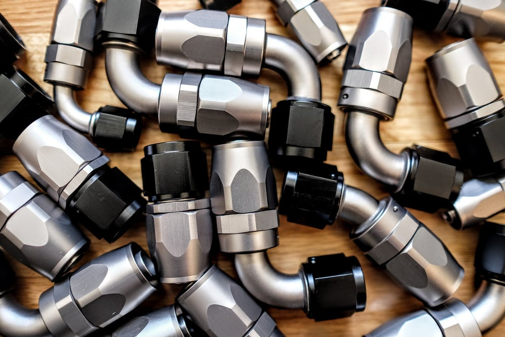 Image of Titanium Series Swivel -AN Hose End Fittings