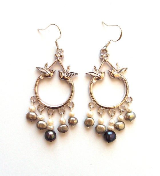 Image of Envol perles grises