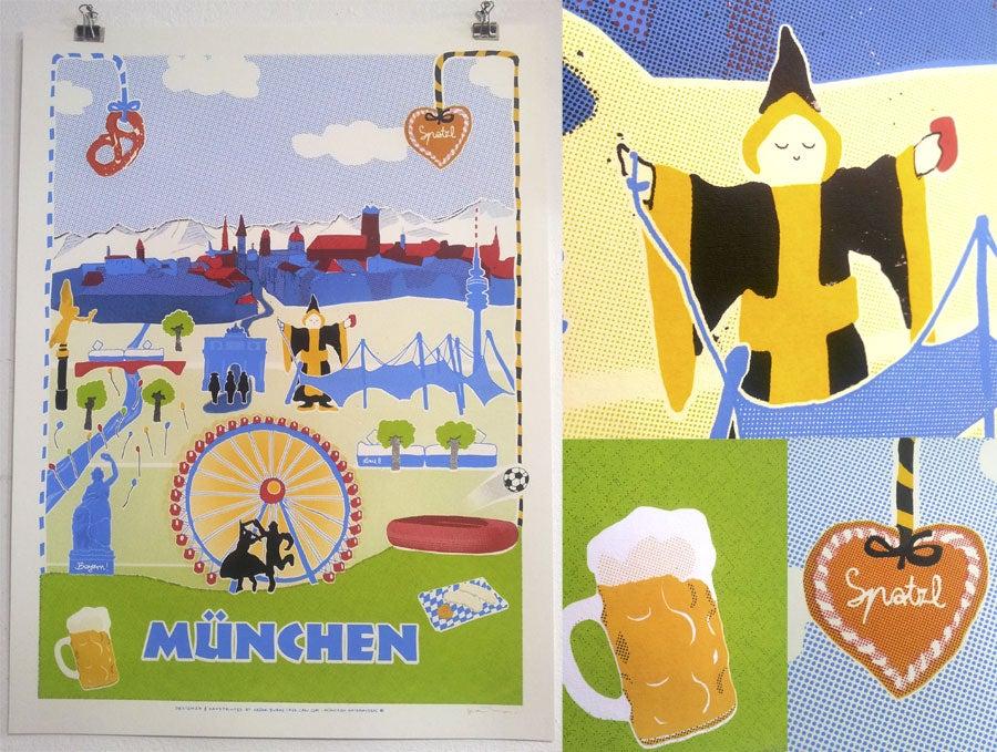 Image of MÜNCHEN (rote / blaue Edition)