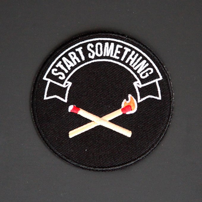 Image of Start Something Patch