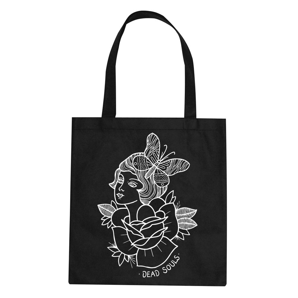 Image of Butterfly Lady Tote Bag