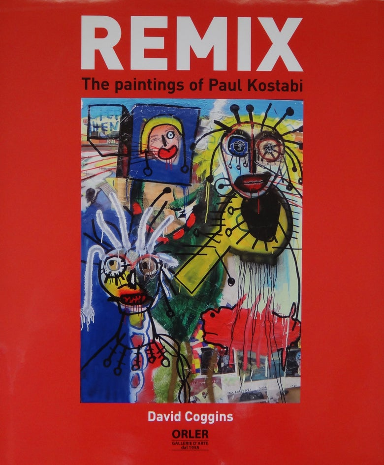 Image of Paul Kostabi Remix: The Paintings of Paul Kostabi signed