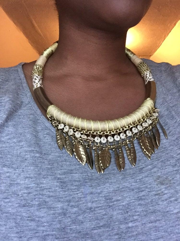Image of Gold Leaf Necklace