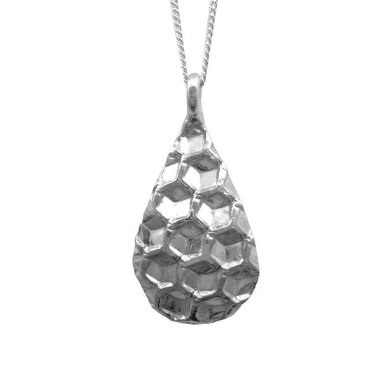 Image of Honeycomb Necklace Drop