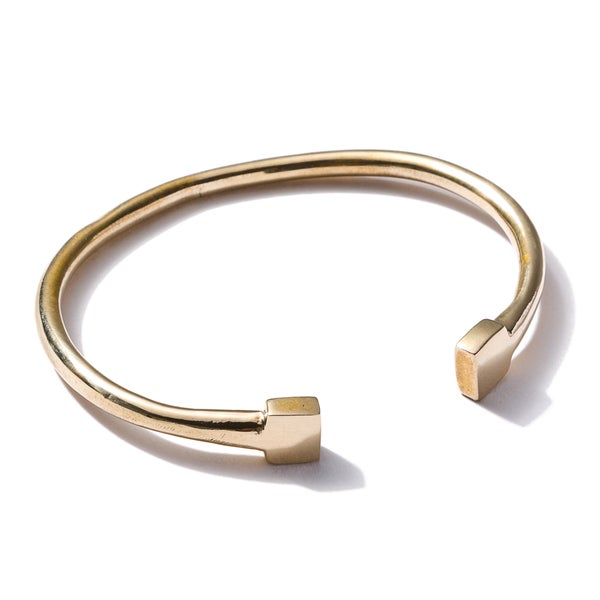 Image of Double square bangle