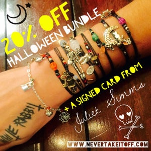 Image of Halloween Horror Bracelet Bundle Limited Edition