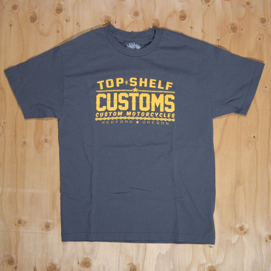 Image of Top Shelf Customs Chain Breaker T-Shirt