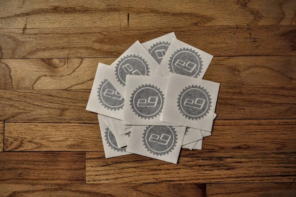 Image of e9 Cog Stickers