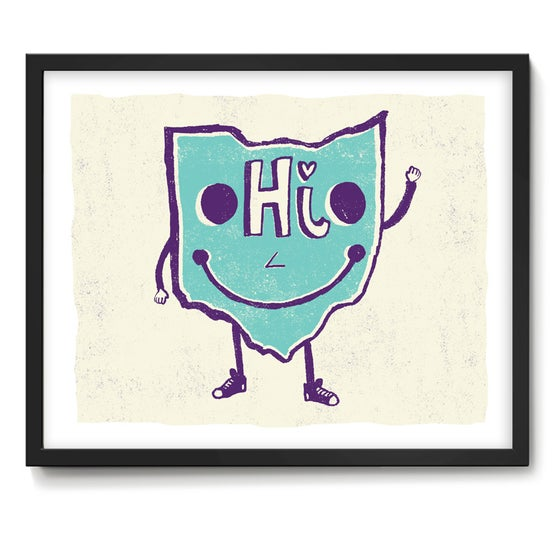 Image of Lil' Ohio Guy! Art Print