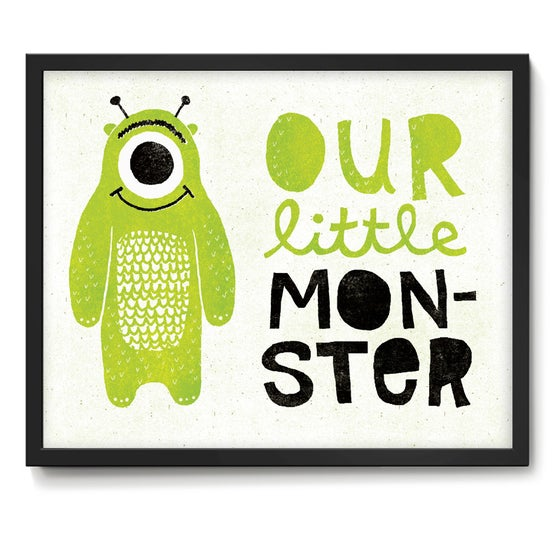 Image of Our Little Monster Art Print