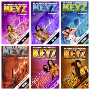 Image of Keyz - Just For The Love Pt. 1-6 MIX ***COMBO PACK***