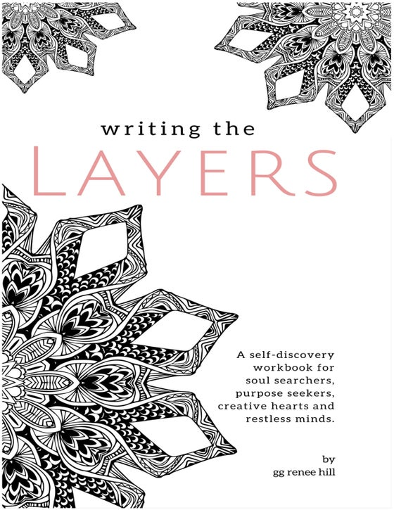 Image of WRITING THE LAYERS SELF-DISCOVERY WORKBOOK