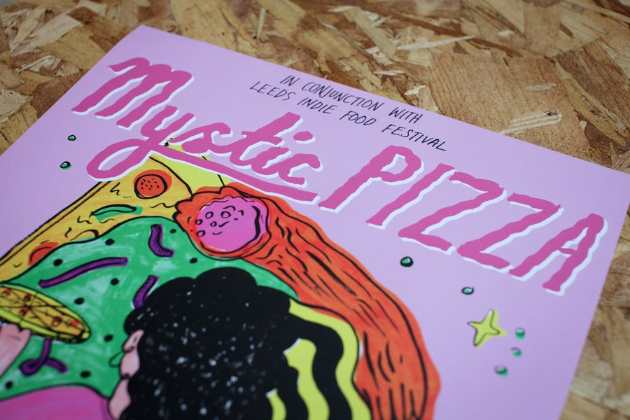 Image of Mystic Pizza // Orignal Print