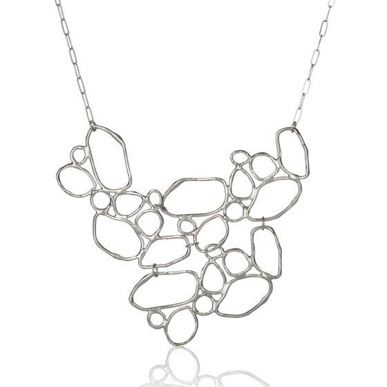 Image of Riverbank Bib Necklace