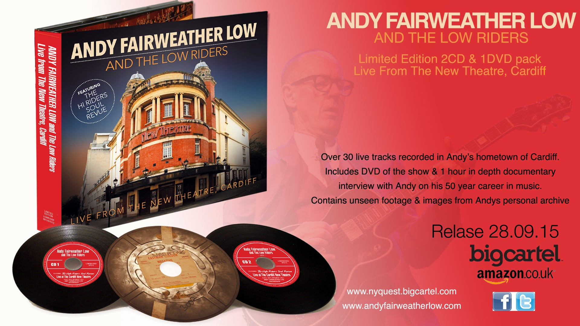 Andy Fairweather-Low Spider Jiving-The Light Is Within
