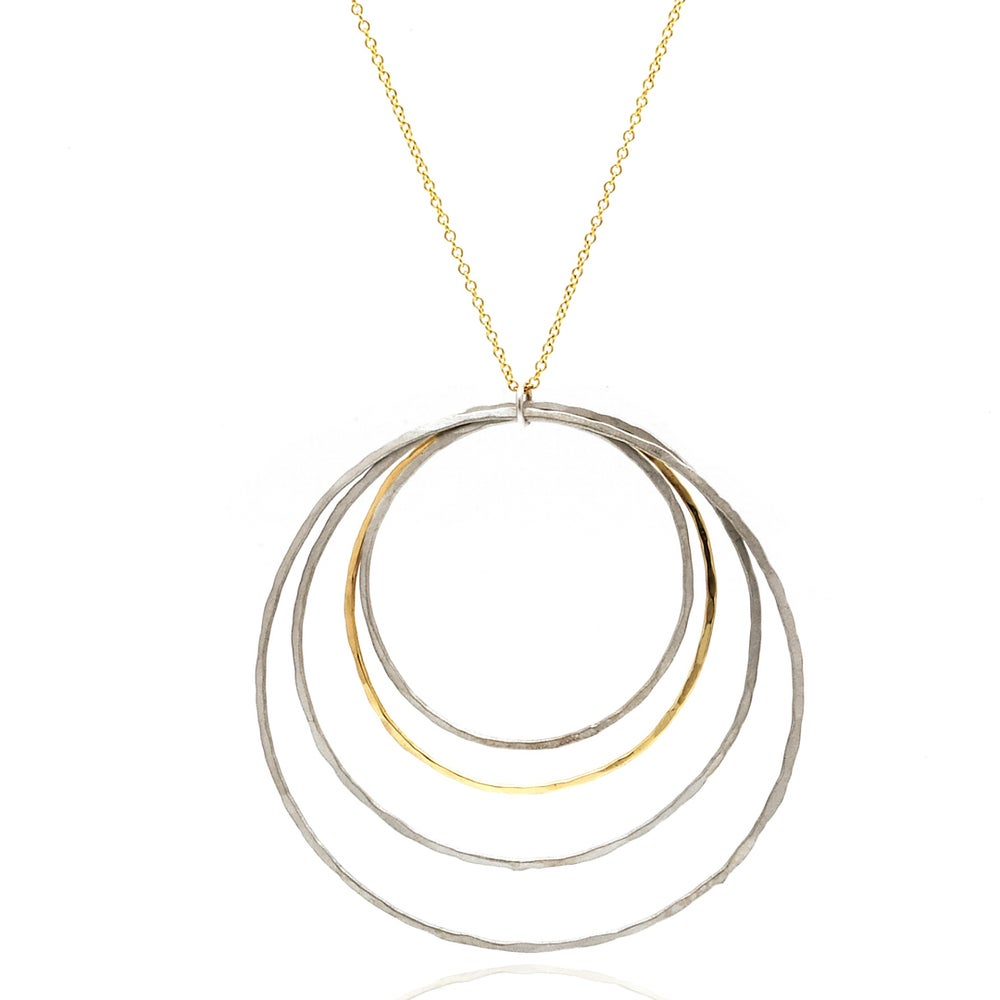 Image of Four Hoop Pendant