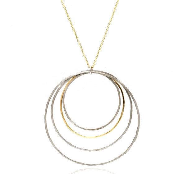 Image of Four Hoop Pendant