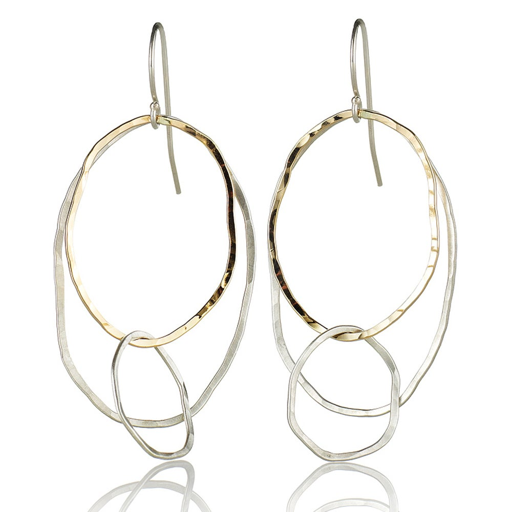 Image of Three River Rock Earrings