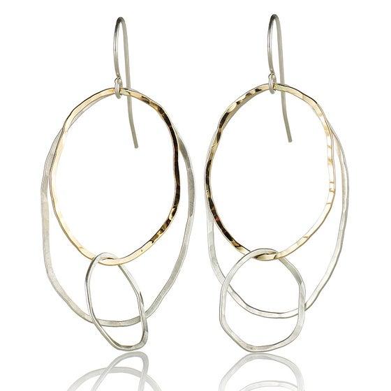 Image of Three River Rock Earrings