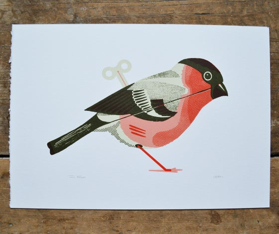 Image of Wind-up Bullfinch