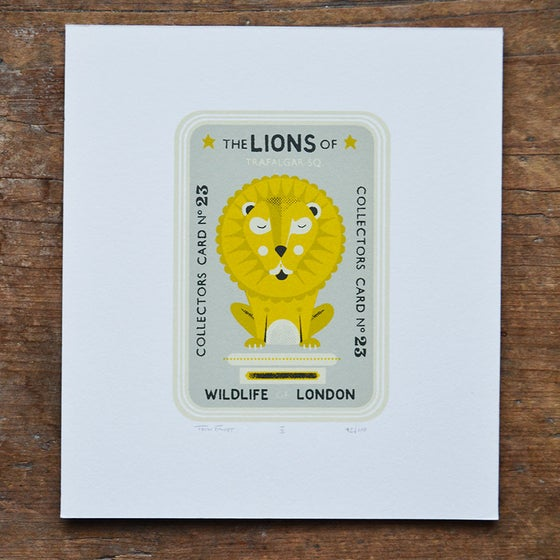 Image of Lion Collector Card