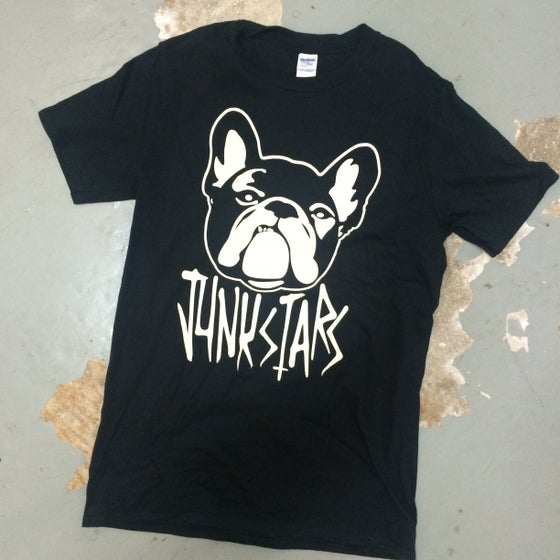 "Image of JUNKSTARS ""Dog"" (Black T-shirt)"