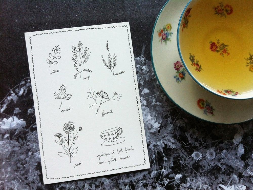 Image of Carte postale : Se réchauffer