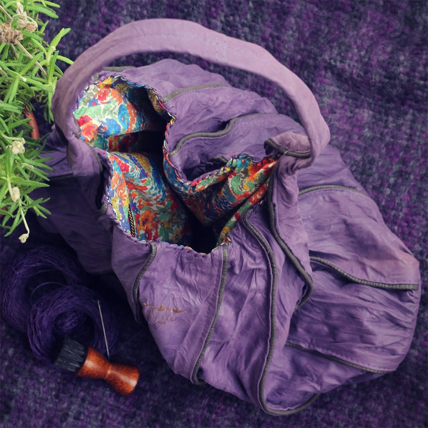 Image of Afefe bag - Purple