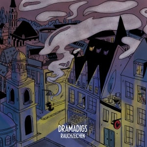 Image of Dramadigs - Rauchzeichen - LP (MELTING POT MUSIC)
