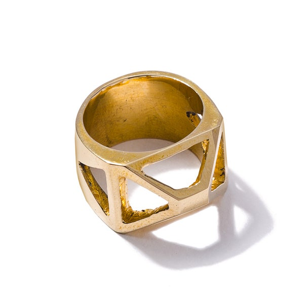 Image of Pyramid Cage Ring